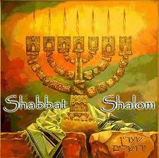 Shabbath Shalom Menorah