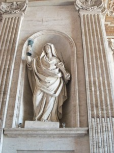 statue of Fides