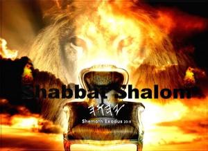 YHWH Shabbat Shemoth20v8
