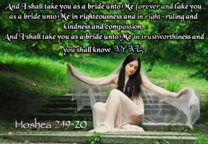 YHWH Bride